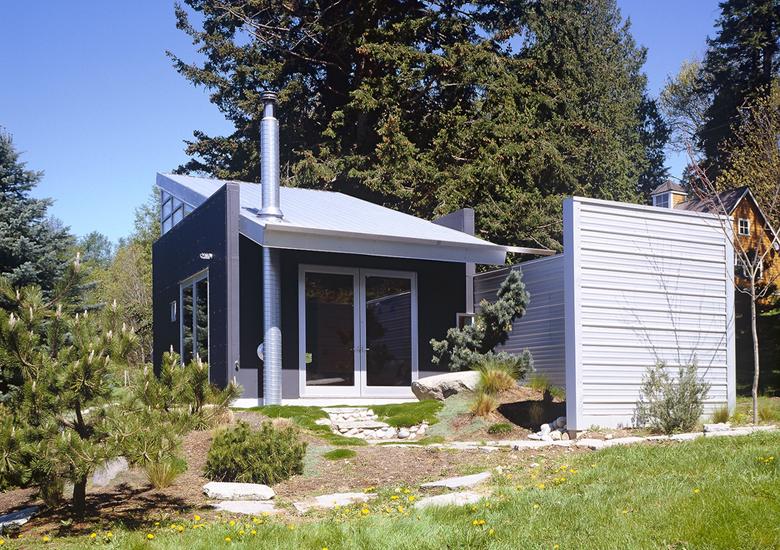V C Architects Portfolio Residential Vashon Cabin